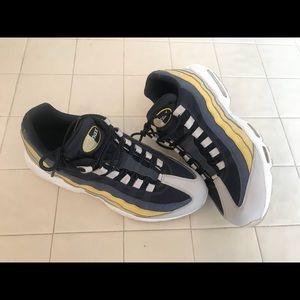 ace947679c Nike Shoes | Air Max 95 Essential Mens Lemon Wash Grey | Poshmark